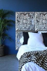 Creative DIY Bedroom Headboard To Make It More Comfortable 10