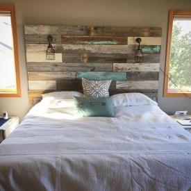 Creative DIY Bedroom Headboard To Make It More Comfortable 12