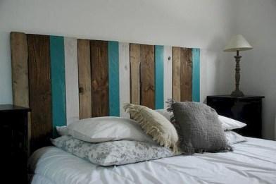 Creative DIY Bedroom Headboard To Make It More Comfortable 17