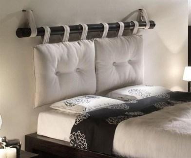 Creative DIY Bedroom Headboard To Make It More Comfortable 19
