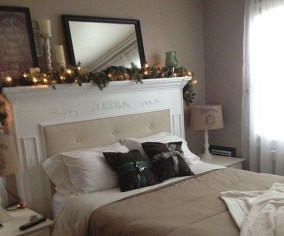 Creative DIY Bedroom Headboard To Make It More Comfortable 23