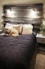 Creative DIY Bedroom Headboard To Make It More Comfortable 24