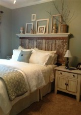Creative DIY Bedroom Headboard To Make It More Comfortable 44