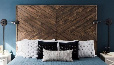 Creative DIY Bedroom Headboard To Make It More Comfortable 45