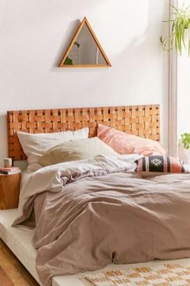 Creative DIY Bedroom Headboard To Make It More Comfortable 48