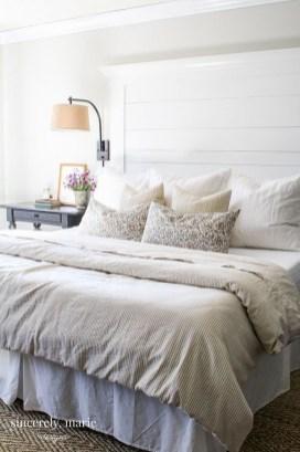 Creative DIY Bedroom Headboard To Make It More Comfortable 49