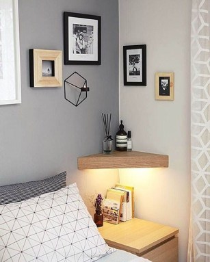 Fabulous DIY Small Bedroom Decoration Ideas On A Budget 44
