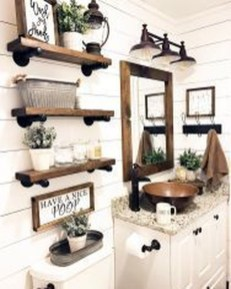 Gorgeous Bathroom Accesories Ideas For Comfortable Bathing 01