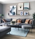 Inspiring Living Room Wall Decoration Ideas You Can Try 39