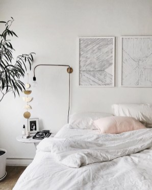 Minimalist Bedroom Decoration Ideas That Looks More Cool 45
