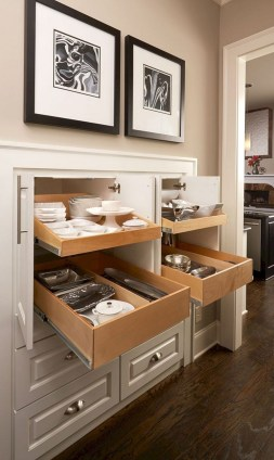 Wonderful Kitchen Cabinets Ideas For Your Tiny House 27
