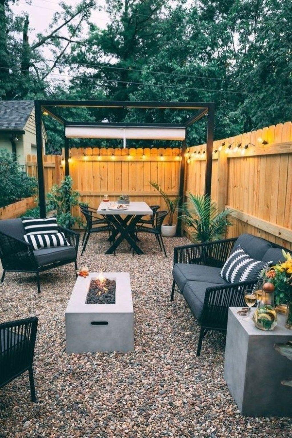Amazing Design Ideas To Beautify Your Backyard 44
