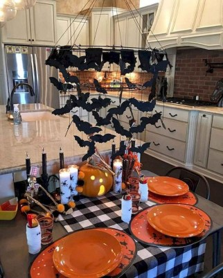 Astonishing Halloween Table Decoration That Perfect For This Year 06