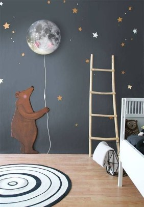 Awesome Child's Room Ideas With Wall Decoration 09