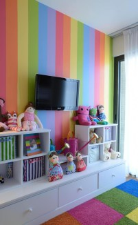 Awesome Child's Room Ideas With Wall Decoration 11