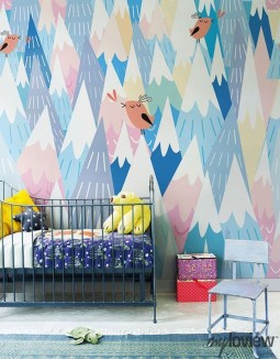 Awesome Child's Room Ideas With Wall Decoration 12