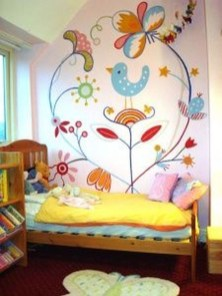 Awesome Child's Room Ideas With Wall Decoration 20