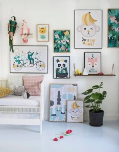 Awesome Child's Room Ideas With Wall Decoration 28