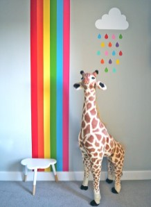 Awesome Child's Room Ideas With Wall Decoration 31