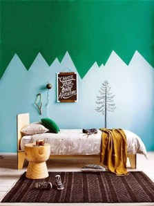 Awesome Child's Room Ideas With Wall Decoration 32