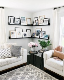 Cute Monochrome Living Room Decoration You Must Have 05
