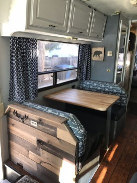 Fabulous RV Renovation Ideas To Make A Happy Campers 42