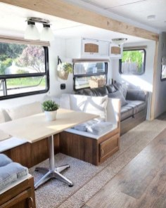 Fabulous RV Renovation Ideas To Make A Happy Campers 46