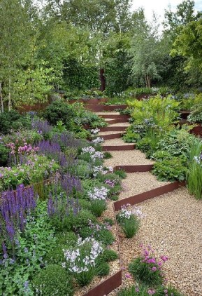 Marvelous Garden Border Ideas To Dress Up Your Landscape Edging 25