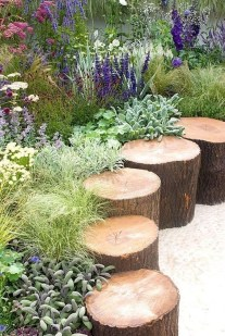 Marvelous Garden Border Ideas To Dress Up Your Landscape Edging 33