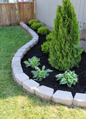 Marvelous Garden Border Ideas To Dress Up Your Landscape Edging 36