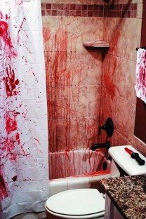 Scary Halloween Decorating Ideas For Your Bathroom 05