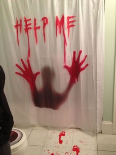 Scary Halloween Decorating Ideas For Your Bathroom 19