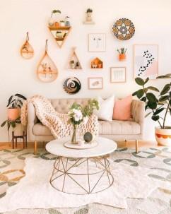 Trendy Living Room Wall Gallery Design Ideas 11