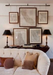 Trendy Living Room Wall Gallery Design Ideas 29