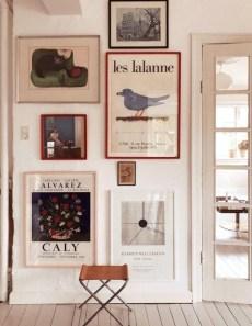 Trendy Living Room Wall Gallery Design Ideas 32