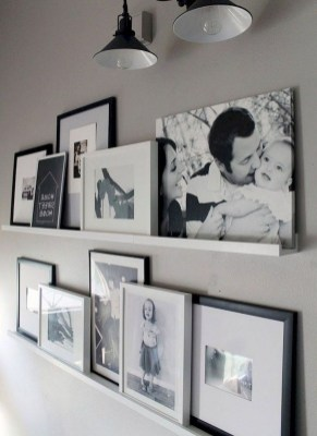 Trendy Living Room Wall Gallery Design Ideas 36