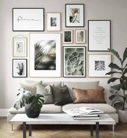 Trendy Living Room Wall Gallery Design Ideas 38