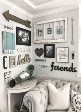 Trendy Living Room Wall Gallery Design Ideas 49
