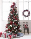 Amazing Red And White Christmas Tree Decoration Ideas 50