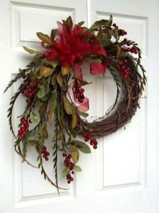 Beautiful DIY Winter Wreath To Place It On Your Door 05