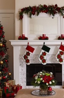 Inspiring Fireplace Mantel Decorating Ideas For Winter 01