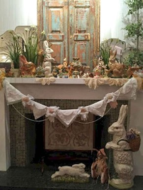 Inspiring Fireplace Mantel Decorating Ideas For Winter 15