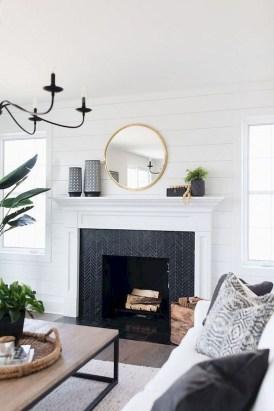 Inspiring Fireplace Mantel Decorating Ideas For Winter 24