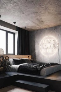 Modern Style For Industrial Bedroom Design Ideas 04