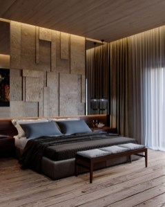 Modern Style For Industrial Bedroom Design Ideas 19