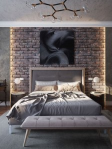 Modern Style For Industrial Bedroom Design Ideas 21