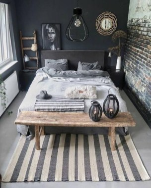 Modern Style For Industrial Bedroom Design Ideas 24