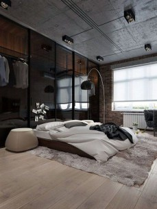Modern Style For Industrial Bedroom Design Ideas 28