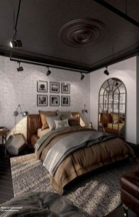 Modern Style For Industrial Bedroom Design Ideas 29