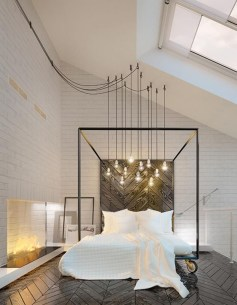 Modern Style For Industrial Bedroom Design Ideas 31